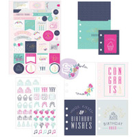 Prima Marketing - My Prima Planner Goodie Pack Embellishments - Celebrate