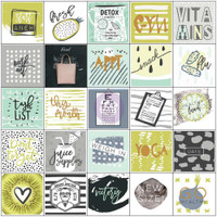 Prima Marketing - My Prima Planner - Planner Stickers - Health Wellness with Foil