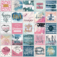 Prima Marketing - My Prima Planner - Planner Stickers - Inspirational with Foil