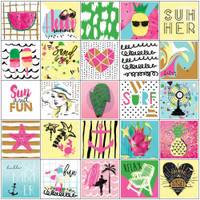 Prima Marketing - My Prima Planner - Planner Stickers - Summer with Foil