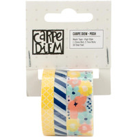 Carpe Diem - Simple Stories - Posh Washi Tape - Set of 3