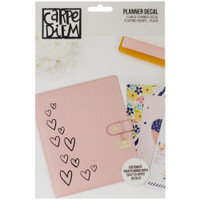 Carpe Diem - Planner Decals - Floating Hearts - Large