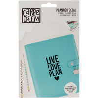 Carpe Diem - Planner Decals - Live, Love, Plan - Small