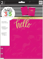 Create 365 - Me and My Big Ideas - The Happy Planner™ Snap-In Cover - Hello Life - CLASSIC