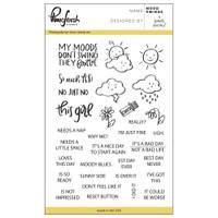 Pinkfresh Studio Clear Stamp Set - Mood Swings