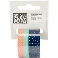 Carpe Diem - Simple Stories - Posh Washi Tape - Set of 3 - Totally Chic