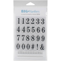 SRM Press - SRM Planner Clear Stamps - Numbers