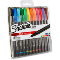 Sharpie Fine Point Art Pen - Set of 12