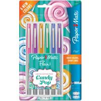 Paper Mate Flair Ultra Fine Felt Tip Pens - Set of 6 - Candy Pop