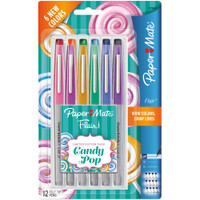 Paper Mate Flair Ultra Fine Felt Tip - Set of 12 - Candy Pop