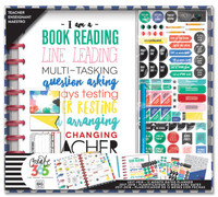 Create 365 - The Happy Planner - Me and My Big Ideas - The Happy Planner® Box Kit - BIG Teacher Edition - I am a Teacher
