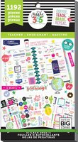 Create 365 - Me and My Big Ideas - The Happy Planner™ Value Pack Stickers - Sweet Life - Teacher
