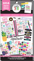 Create 365 - Me and My Big Ideas - The Happy Planner™ Value Pack Stickers - Sweet Life - Student