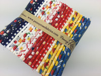Penny Rose Fabrics - Fat Quarter Bundle - Gingham Girls by Amy Smart Collection