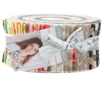 Moda Fabric Precuts Jelly Roll - Farmers Daughter by Lella Boutique