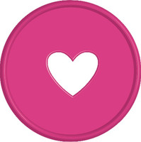 Create 365 - Me and My Big Ideas - Expander Discs - Bright Pink - One Disc