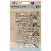 "Prima Marketing - Julie Nutting Planner Clear Stamps 4""x 6""- Make Kindness Happen"