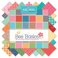 Riley Blake Fabric - Bee Basics by Lori Holt - Fat Quarter Bundle