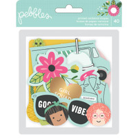 Pebbles - Girl Squad Ephemera Cardstock Die-Cuts - Set of 10