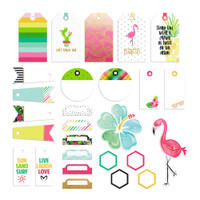 Fancy Pants - Hello Sunshine Cardstock Tags Pack