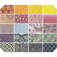 Free Spirit Fabric Precuts - Throwback by Tula Pink - Fat Quarter Bundle