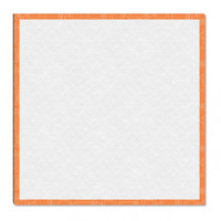 Riley Blake Designs - Lori Holt - 18 inch Design Board - Orange Tv