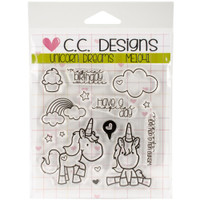C.C. Designs - Meoples Clear Stamps - Unicorn Dreams