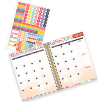 "Paper House - Spiral Bound Planner 7.5"" X 8.5"" - Make Everyday Great"