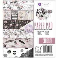 "Prima Marketing Double-Sided Paper Pad 6"" x 6"" - Rose Quartz"