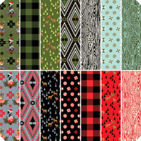 Free Spirit Fabric Precuts - Holiday Homies by Tula Pink - Fat Quarter Bundle