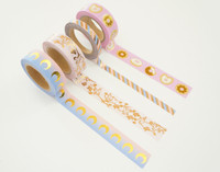 Simply Gilded - Washi Tape - The Lovely Collection - Set of 4