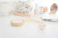 Simply Gilded - Washi Tape - Quilted Luxe