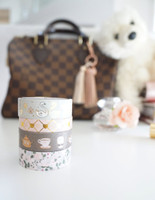 Simply Gilded - Washi Tape - Cozy Luxe Collection - Set of 4