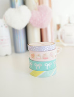 Simply Gilded - Washi Tape - Rainbow Confections  - Set of 4