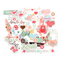 Prima Marketing - My Prima Planner Ephemera Cardstock Die-Cuts - Bee Happy