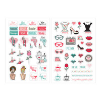 Prima Marketing - Julie Nutting Planner Stickers - Beauty
