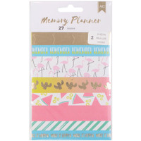 American Crafts - Memory Planner Washi Tape Stickers