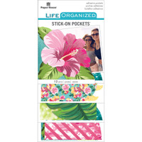 Paper House Life Organized Vellum Planner Pockets - Set of 12 - Embrace Today