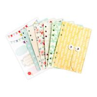 Julie Nutting Planner Inserts - String Closure Envelopes & Labels