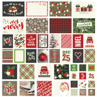 Simple Stories - Very Merry - Sn@p! Card Pack - 48 Pack