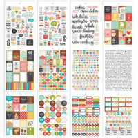 Carpe Diem - Simple Stories - Recipe A5 Stickers