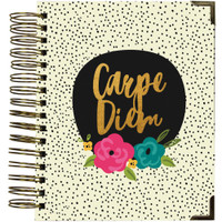 Carpe Diem Spiral 16-Month Dated Weekly Planner - Good Vibes