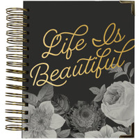 Carpe Diem Spiral 16-Month Dated Weekly Planner - Beautiful
