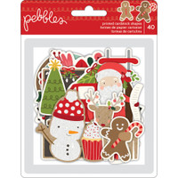 Pebbles - Merry Merry Ephemera Cardstock Die-Cuts  - Set of 14