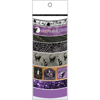 Martha Stewart Crafts Halloween Washi Tape 8 Assorted Rolls - Witching Hour - Purple