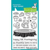 Lawn Fawn Clear Stamps - Forest Feast