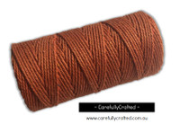 Baker's Twine 12 Ply - 100 Metre (110 Yards) Spool - Solid Orange #BT12-33