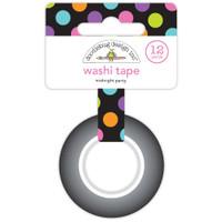 Doodlebug Washi Tape 15mm X 12yd - Midnight Party