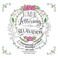Page Street Publishing - Hand Lettering For Relaxation