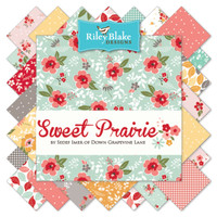 Riley Blake Fabric - Precuts - Fat Quarter Bundle - Sweet Prairie by Sedef Imer Collection